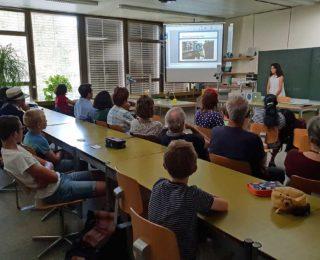 Projektpräsentationen der Forschungsstation 2018